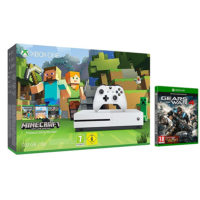 XBOX One S da 500GB + Minecraft + Gears of War 4