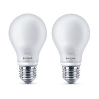 2 Lampadine LED Philips 60W con attacco E27, accensione immediata, emissione luminosa 806 lumens, classe energetica A++