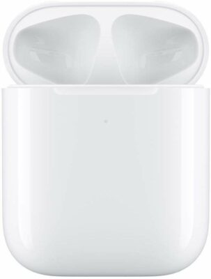 Immagine di Apple custodia di ricarica wireless per AirPods