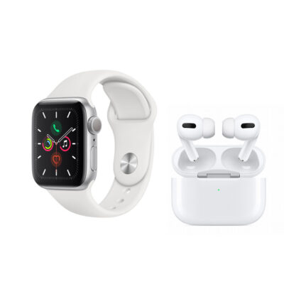 Immagine di ‼️ Apple Watch Serie 5 da 44mm + AirPods Pro per un prezzo complessivo di 589,99€